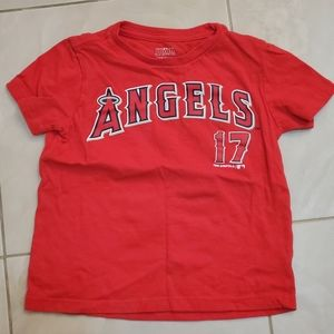 Kids Angels Ohtani shirt